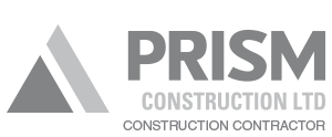 Prism Construction Contractor Logo